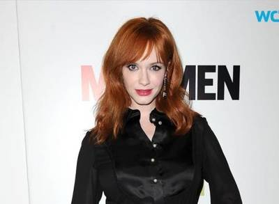 News video: Mad Men May Be Over for Christina Hendricks But It's Not the End of the 'Roadies'