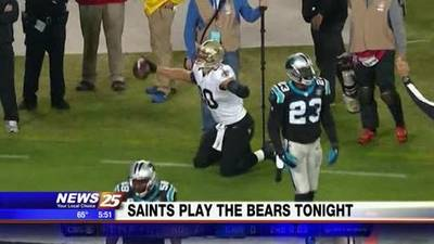News video: Saints Face Chicago Bears at Soldier Field Monday Night